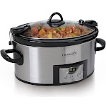 Crock-Pot Cook & Carry SCCPVL610-S-A Slow Cooker - 6 qt