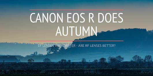 CANON EOS R DOES AUTUMN - EF LENSES VIA ADAPTER - ARE RF LENSES BETTER?