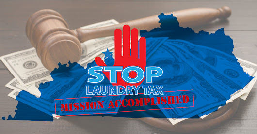 Common Sense Won Out | Legislative Win Over Laundry Tax in Kentucky
