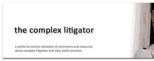 The Complex Litigator Home