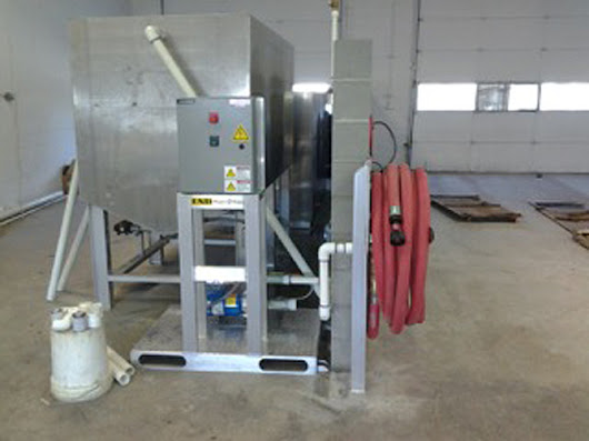 Industrial Wash Water Treatment Systems - ESD - Waste 2 Water