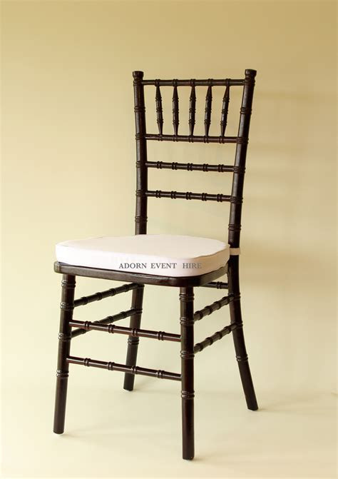 Tiffany Chair Dark Brown {wood}