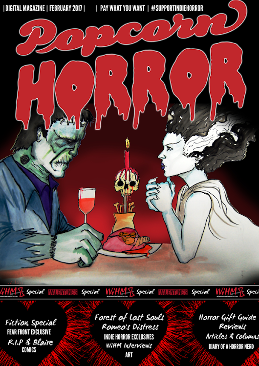 Popcorn Horror Magazine - WiHM / Valentine's Issue