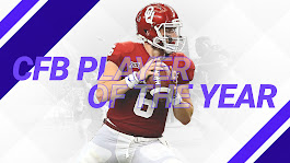 Oklahoma's Baker Mayfield is Sporting News Player of the Year | NCAA Football | Sporting News