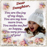 Message To Daughters And Sons I Love You Baby Happy Birthday