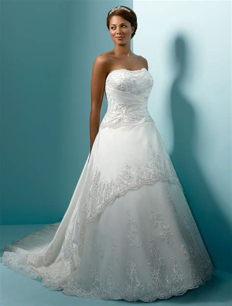 Alfred Angelo Plus Size Wedding Dresses   Style 1153W
