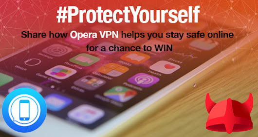 Protect your iOS with Opera VPN