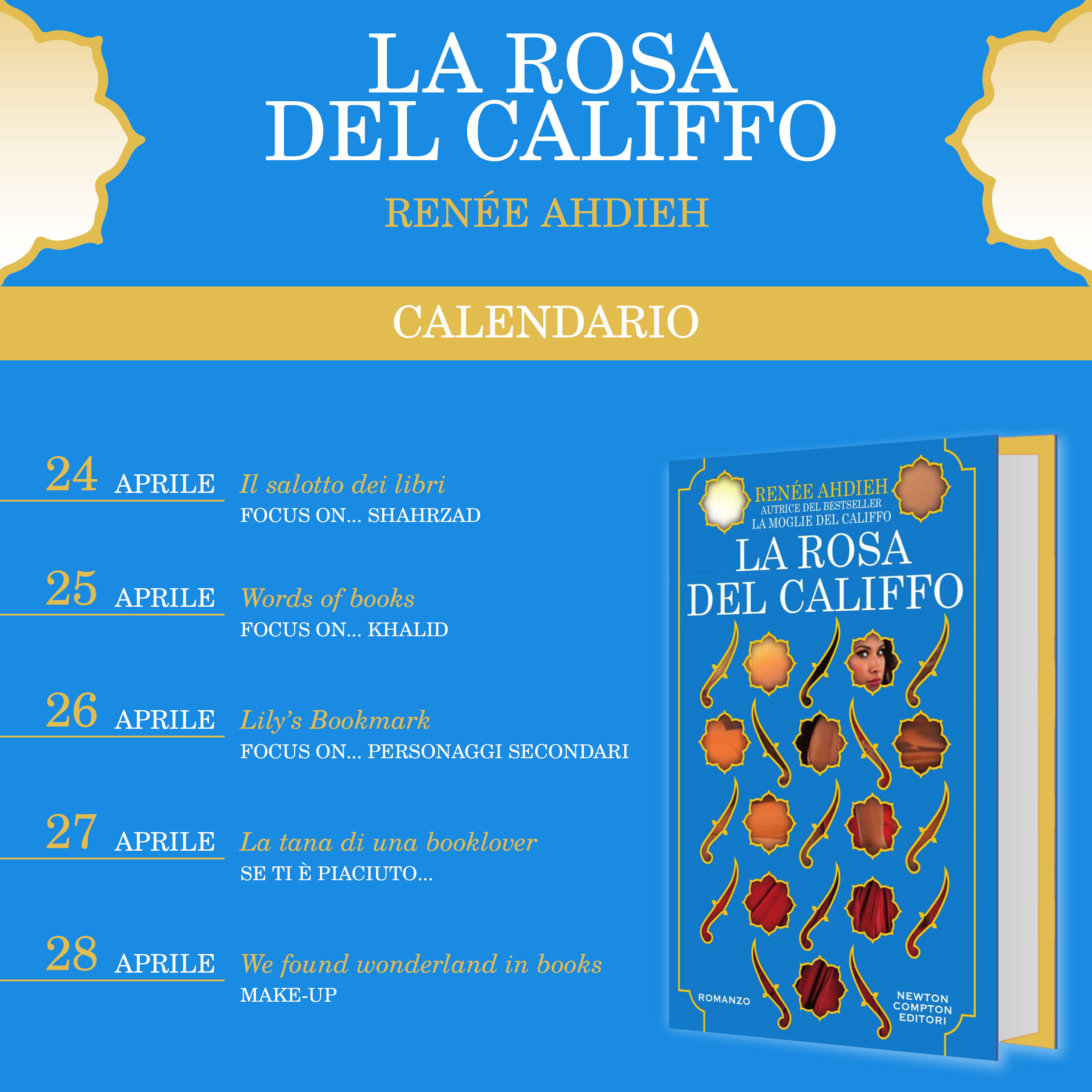 Calendario La rosa del califfo