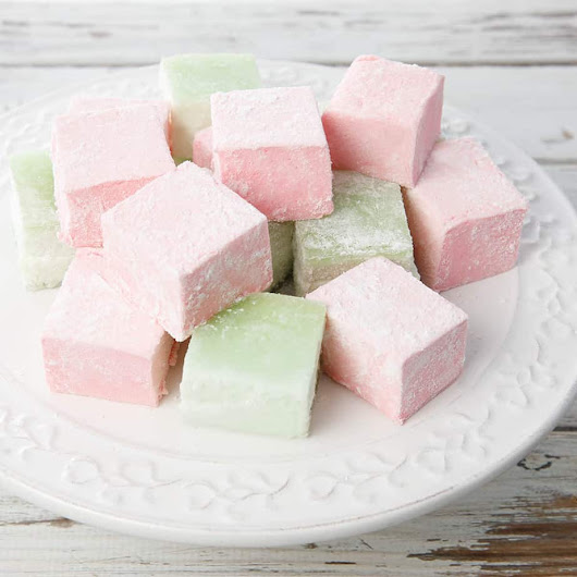 Jelly Crystal Flavoured Marshmallow