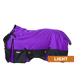 Extreme 1680D Waterproof Poly Turnout Sheet 81inch, Purple