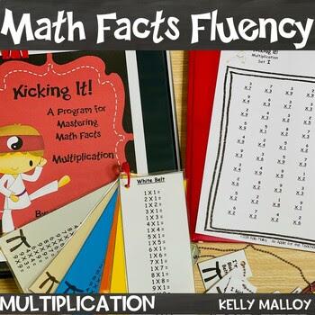 Multiplication Fact Fluency Program - Kicking It Math