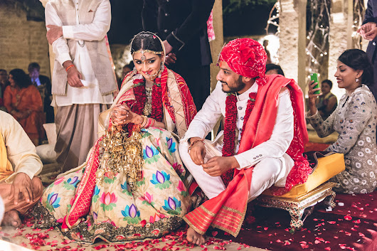 Karishma Jhalani and Ashwin Jain's Desert Wedding in Jaisalmer, India