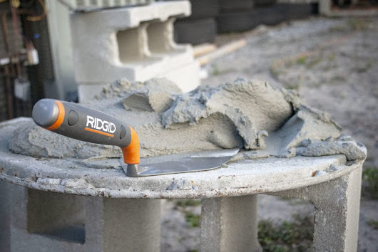 New Ridgid Masonry Tools: Floats, Trowels, Groovers, and Edgers | Pro Tool Reviews