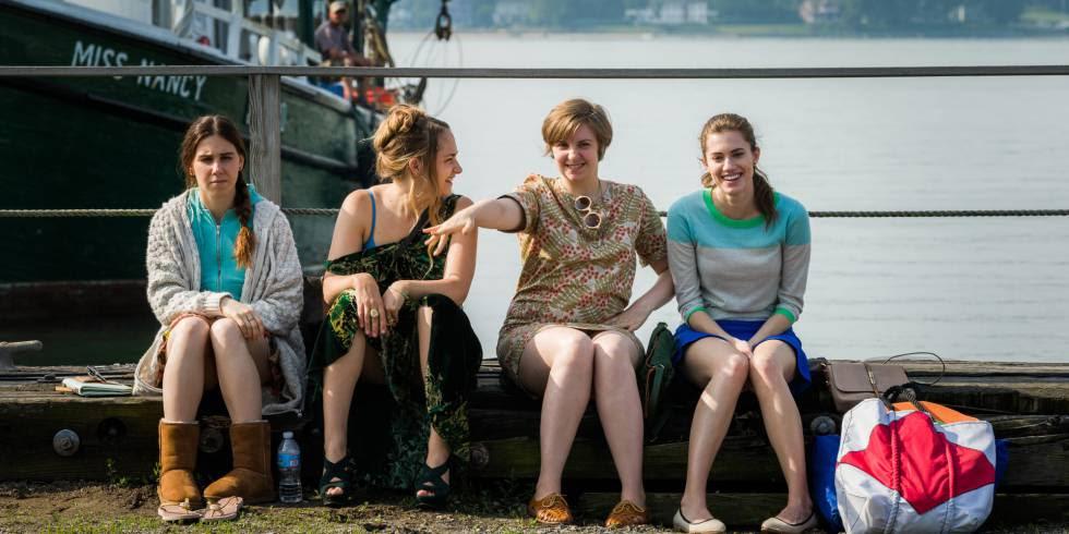 Las cuatro protagonistas de 'Girls'.
