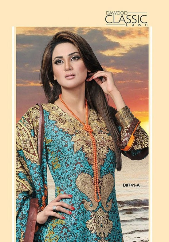Dawood-Textile-Classic-Lawn-Collection-2013-New-Latest-Fashionable-Clothes-Dresses-16