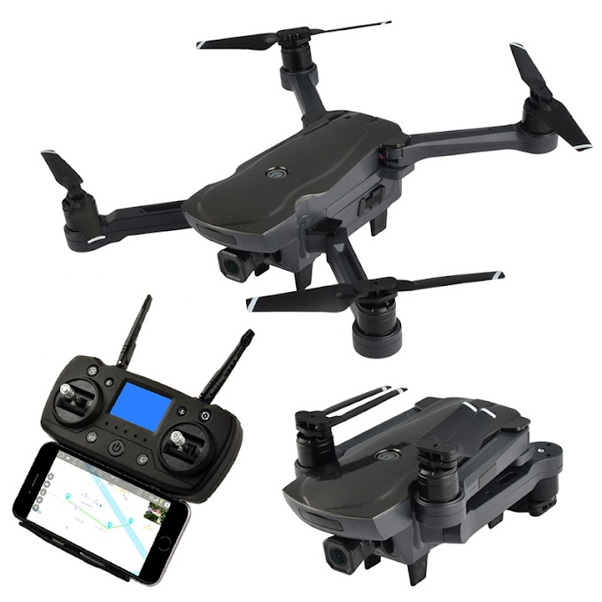 Professional RC Drone Dual GPS Brushless Quadcopter HD 1080P Camera WIFI FPV Aerial Drone Smart Follow Waypoint Drone Dron Toy