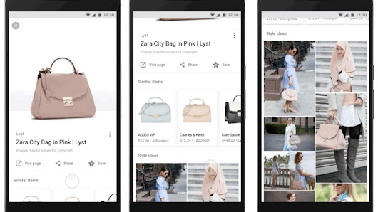 Google is trying to turn Image Search into a shopping tool