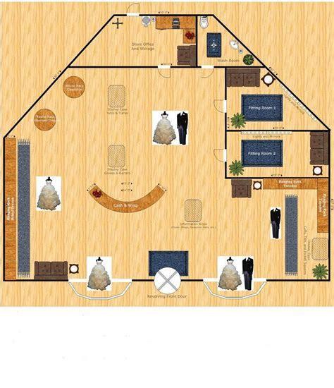 bridal boutique floor plan interior design   Google Search