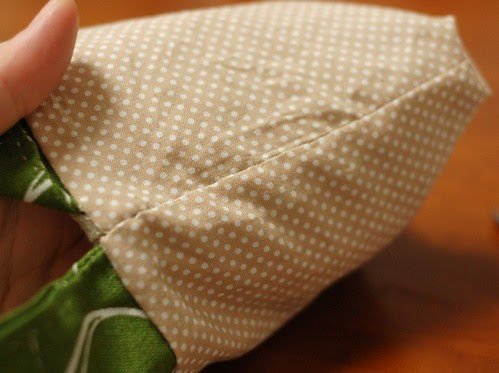How to make a petit pouch 32