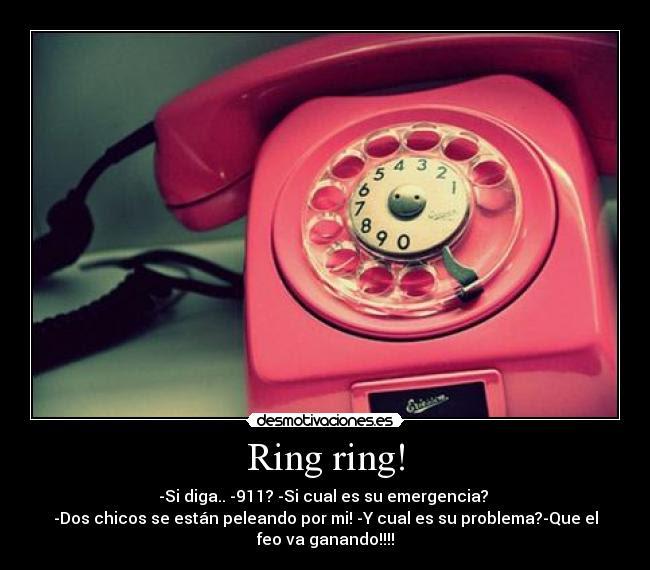 Ring Ring Desmotivaciones