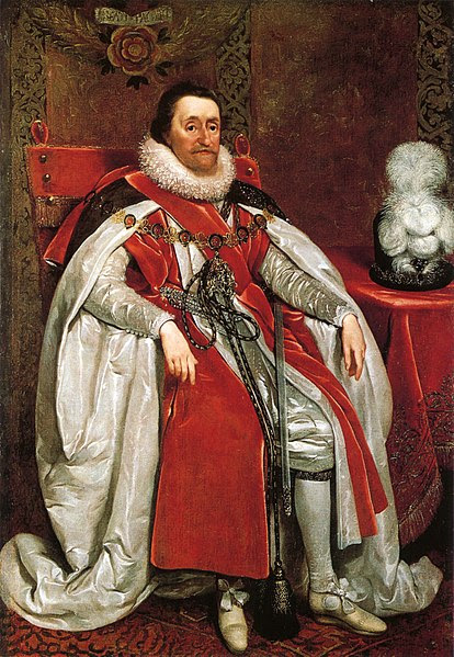 Archivo: James I de Inglaterra por Daniel Mytens.jpg
