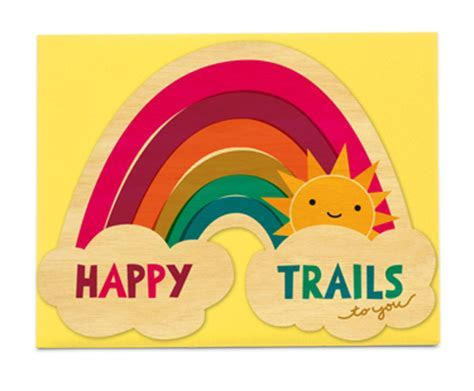 Happy Trails ? Congratulations ? Cards « Night Owl Paper