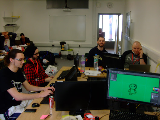 Moray Game Jam - Saturday: Runners & Riders