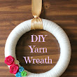 A Million Moments: How To Make A Yarn Wreath