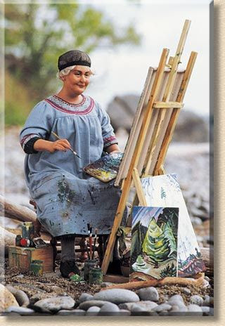 Emily Carr    ...Canadian Painter and author; This is how I want to live out my life. Enjoying my passions until the very last second.