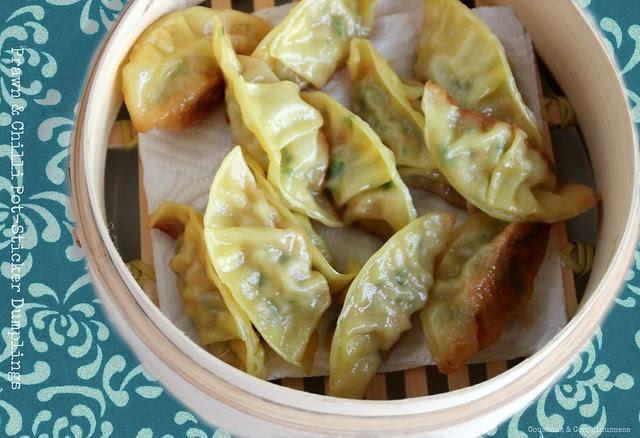 Prawn & Chilli Pot Sticker Dumplings 3