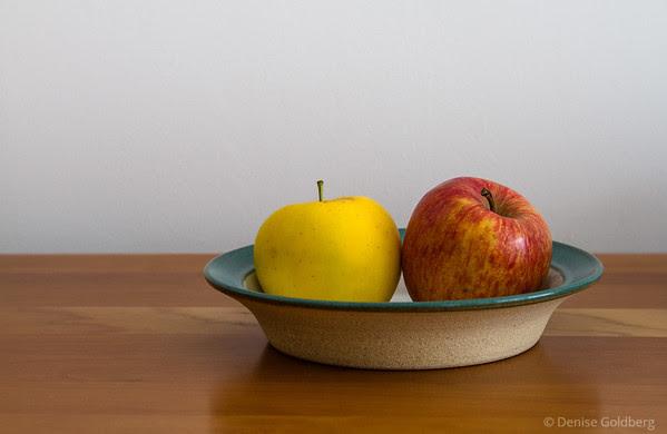 Opal and Kiku apples