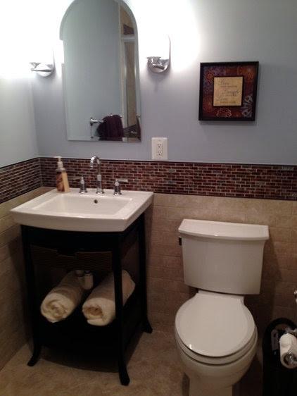 transitional bathroom by Lynn Madyson, ASID, IFDA, NKBA