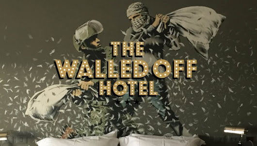 "Banksy's ""Walled Off Hotel"" in Bethlehem 