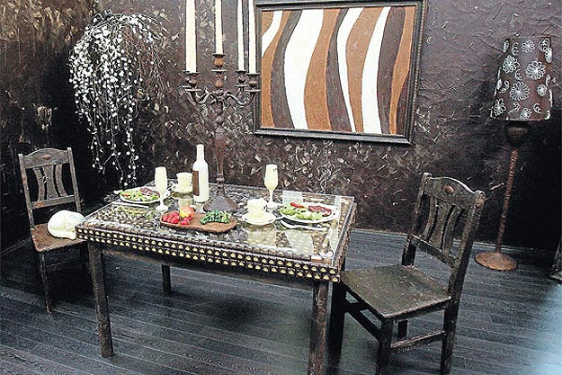 Room Made Entirely Of Chocolate