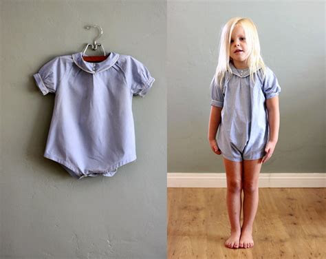 vintage childrens clothes girl gloss