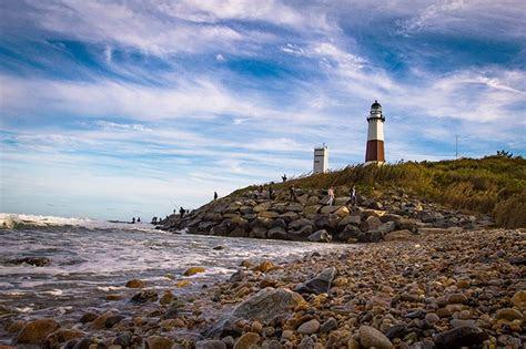 montauk point lighthouse  long island montauk