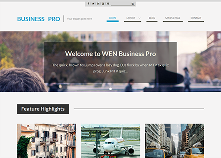 Premium # WordPress # Theme # Update Wen Business ...