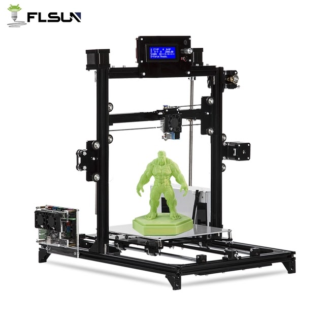 Cheap 2019 NEW DIY Kit Flsun I3 3d Printer DIY Kit Printing
