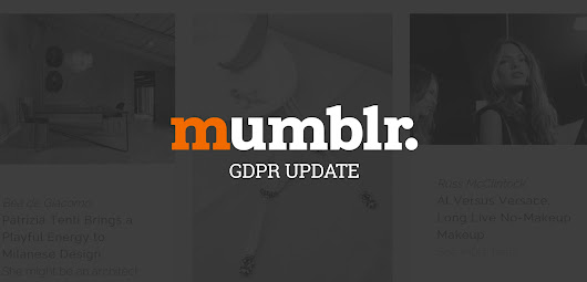 Important News for Mumblr Users Based in the EU - Muse-Themes.com