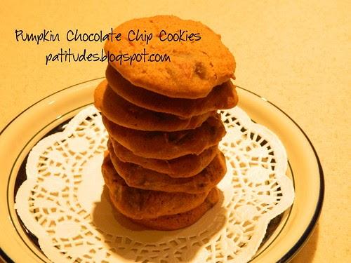 Guittard Pumpkin Chocolate Chip Cookies