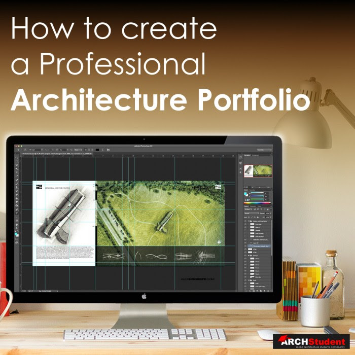 How To Create An Architecture Portfolio Photoshop Architectural