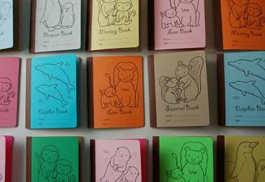 note-books for first scribbles by you.