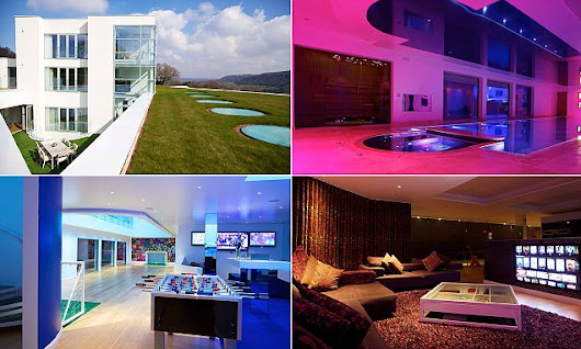 Futuristic 'James Bond' bachelor pad on the market for £4.7million