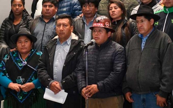Conalcam dice que la democracia se defiende con dinamita #Bolivia