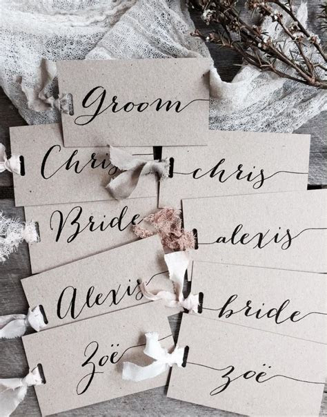 Wedding Name Tags   Wedding Ideas
