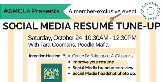 #SMCLA Presents: Social Media Resume Tune-Up