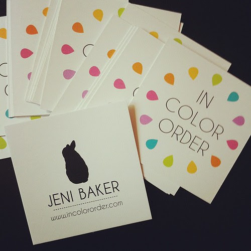 Business Cards by Jeni Baker