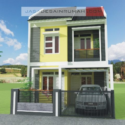 Mini Asri 1 Lantai & 2 Lantai Jasa Desain Rumah