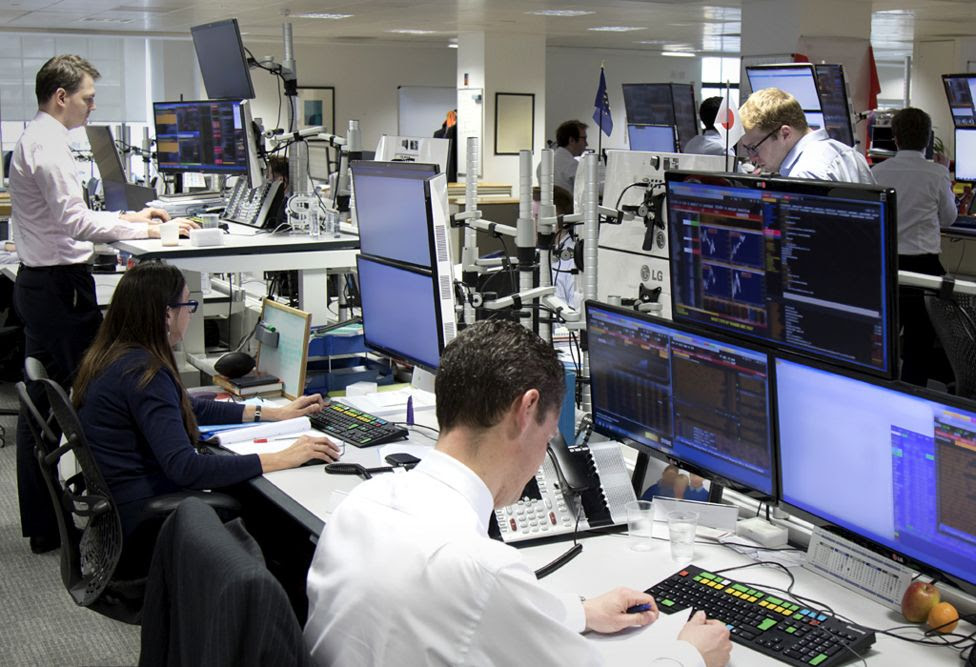 Bank of England Dealing Room