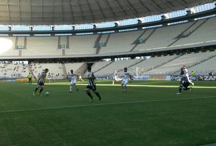 Arena Castelao, Ceará x Tupi, Série B (Foto: Caio Ricard/TV Verdes Mares)